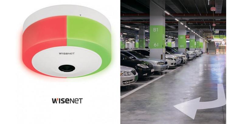 Как камера WISENET TNF-9010 «Рыбий глаз» помогает управлять парковками