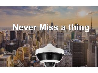Представлена новая разнонаправленная PTZ камера видеонаблюдения с 5 сенсорами и широким спектром видеоаналитики